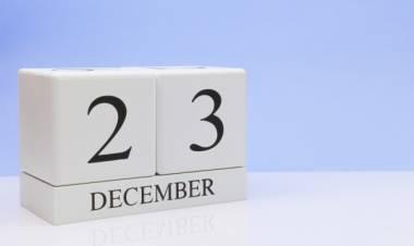 Efemérides de música de este 23 de diciembre