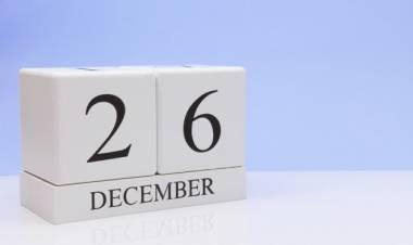 Efemérides de música de este 26 de diciembre