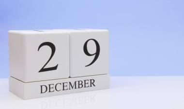 Efemérides de música de este 29 de diciembre