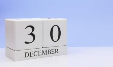 Efemérides de música de este 30 de diciembre