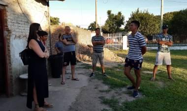 Florito visitó un Centro de Recuperación para Personas con Consumos Problemáticos
