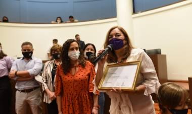 El Concejo entregó los Premios Virginia Bolten