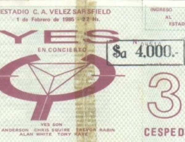 Se cumplen 35 años del primer concierto de Yes en Argentina