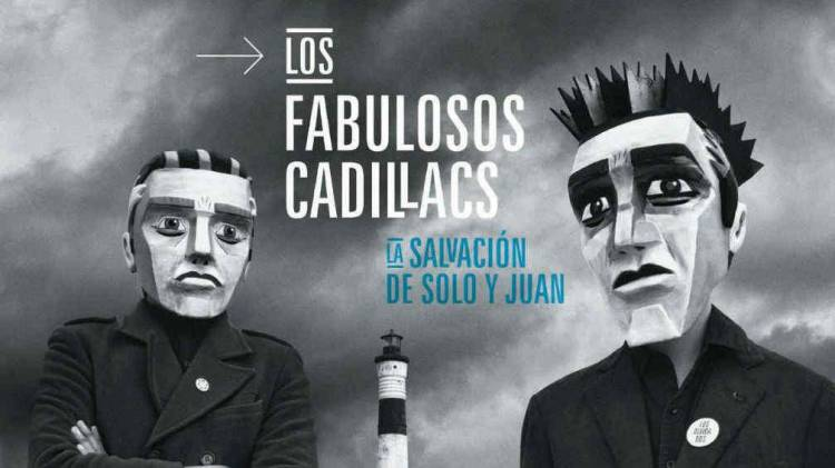 """El 27 de mayo de2016LosFabulosos Cadillacs publican """"La salvación de Solo y Juan"""""""