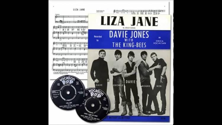 """El 5 de junio de 1964se edita el primer single """"Lisa Jane"""" Davy Jones & The King Bees"""