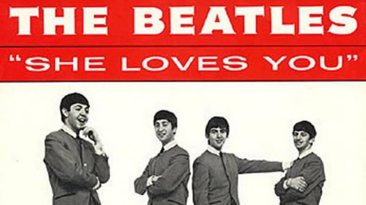 """El 1 de julio de 1963 los Beatles grabaron """"She loves you"""""""