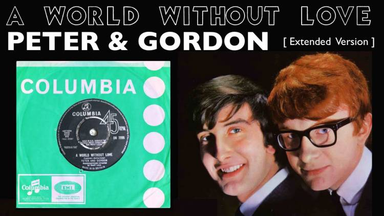 "El 27 de junio de 1964  ""A World Without Love"", Peter and Gordon es #1 en  Billboard Pop Hit"