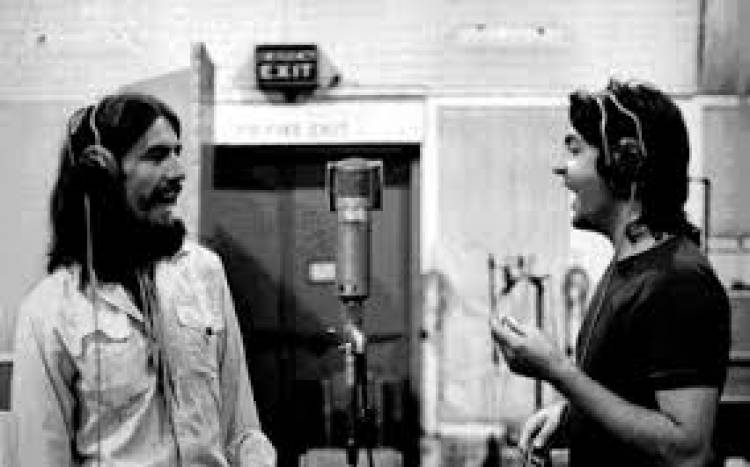 Beatles comienza a grabar 'Here comes the sun' de George Harrison