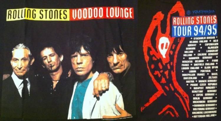 El 1ro. de Agosto de 1994 Rolling Stone lanzan Voodoo Lounge Tour