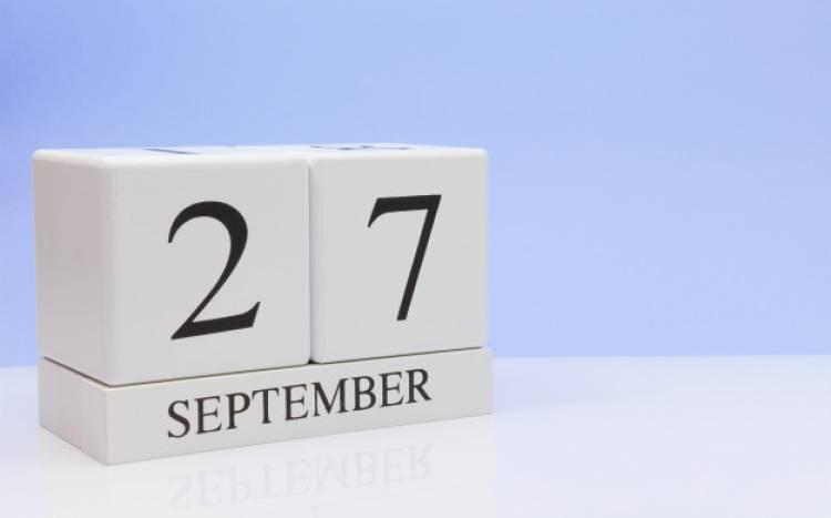 Efemérides de música de este 27 de setiembre