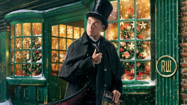 "Robbie Williams presenta ""The Christmas Present"" un sorprendente álbum de con 28 canciones de Navidad"
