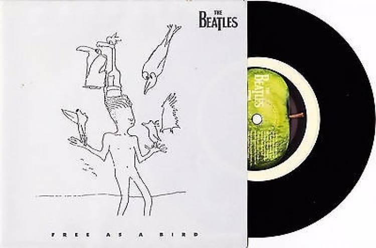 El 4 de diciembre de 1995 se publicó en el Reino Unido 'Free as a bird'
