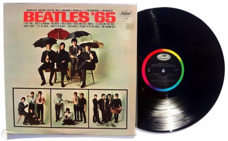 El 15 de diciembre The Beatles lanzan 'Beatles '65'