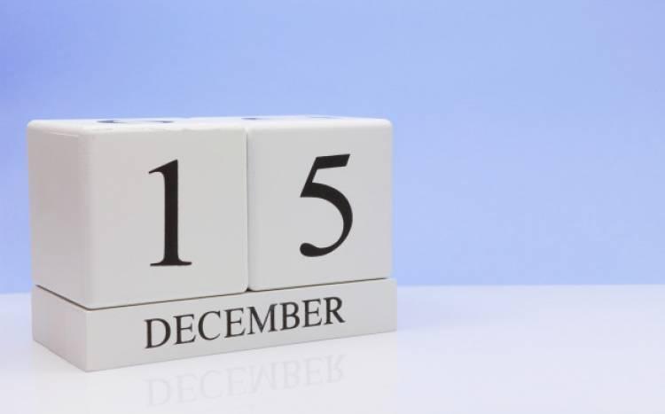 Efemérides de música de este 15 de diciembre