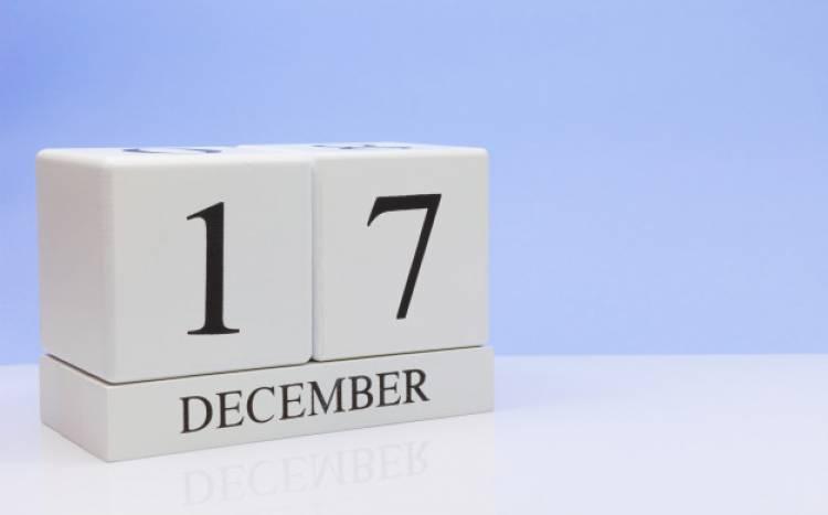 Efemérides de música de este 17 de diciembre