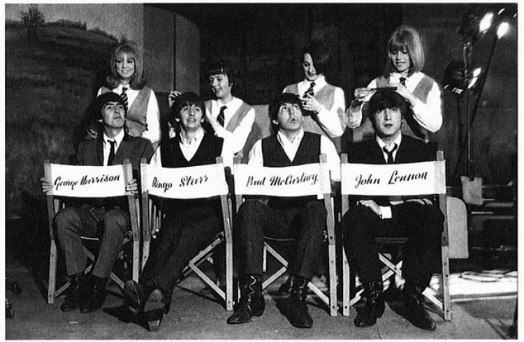 El 2 de marzo de 1964 comienza la filmación de A Hard Day's Night