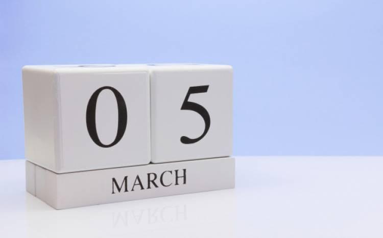 Efemérides de música de este 5 de marzo