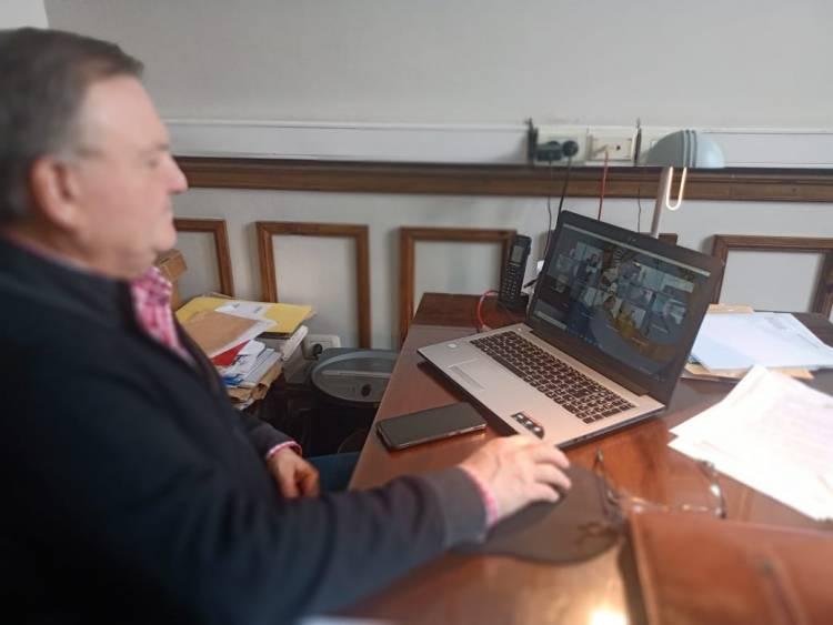"""El Senador Michlig participó de una reunión por el """"Plan Fomento 2020"""" del Ministerio de Cultura de la Provincia"""