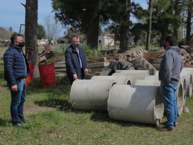 El Senador Michlig y el Diputado González visitaron la Comuna de Soledad