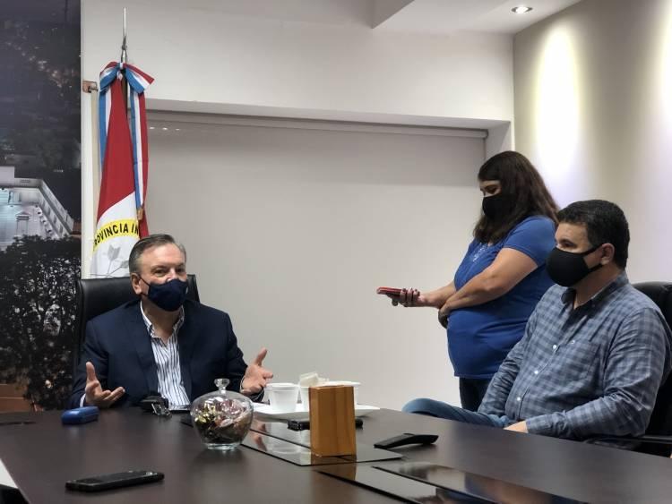 El Senador Michlig anunció la adquisición de un respirador para San Cristóbal y nuevos convenios de iluminación Led