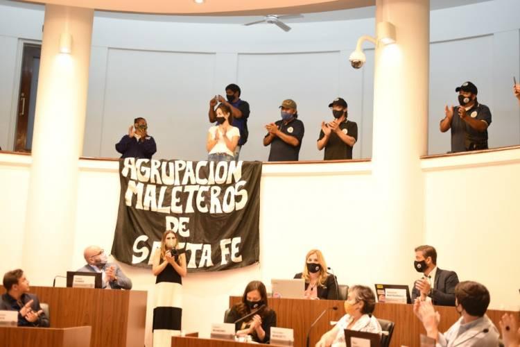Santa Fe tendrá un Registro Municipal de Maleteros