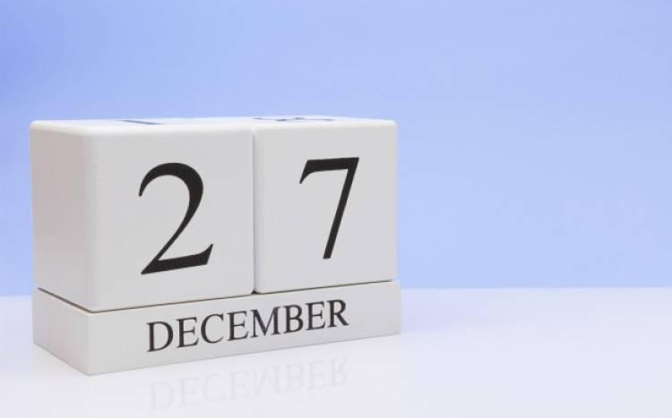 Efemérides de música de este 27 de diciembre