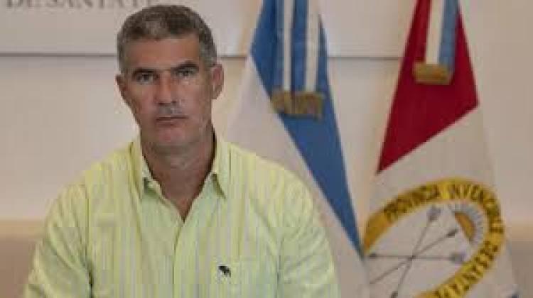 Carlos Kauffman se refirió a la situación de municipios y comunas de la provincia