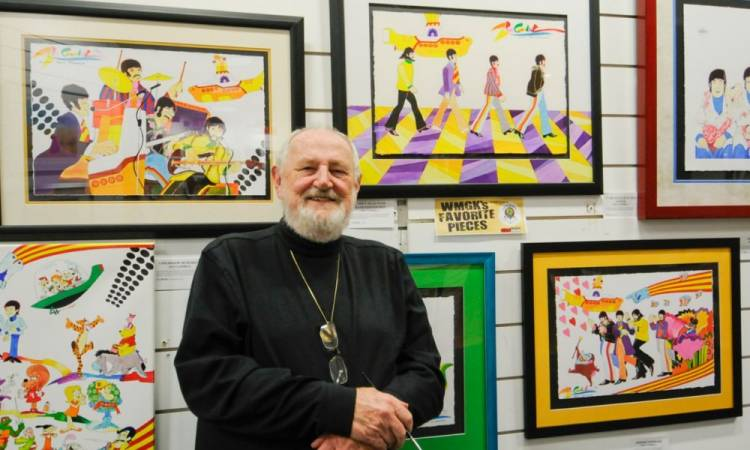Falleció Ron Campbell, el caricaturista de Los Beatles