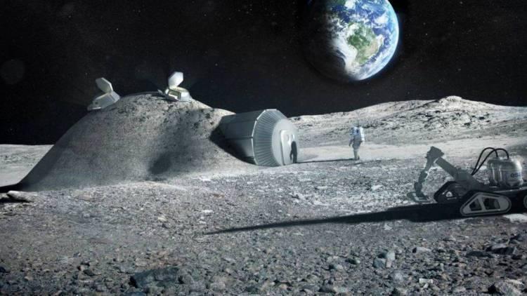 Las potencias mundiales se disputan la explotación de los recursos de la Luna