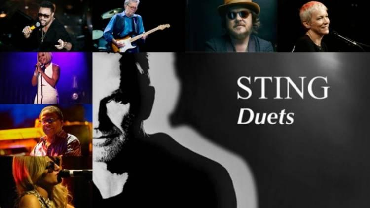 Sting publicó su álbum de duetos