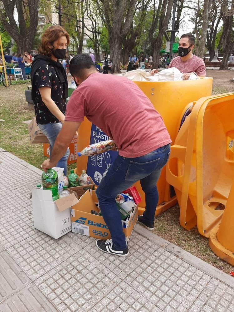 La Municipalidad continúa con las jornadas de ecocanje en distintos puntos de la ciudad