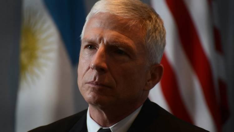 Cristian Riom analiza la visita del Jefe del comando Sur de la flota estadounidense