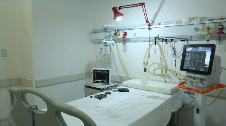 Covid 19: Se habilitaron 12 camas críticas y 20 de internación clínica en el Cemafe