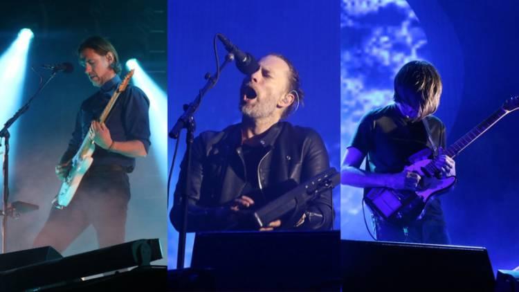 Radiohead sube a YouTube el concierto que ofreció en Lima en 2018
