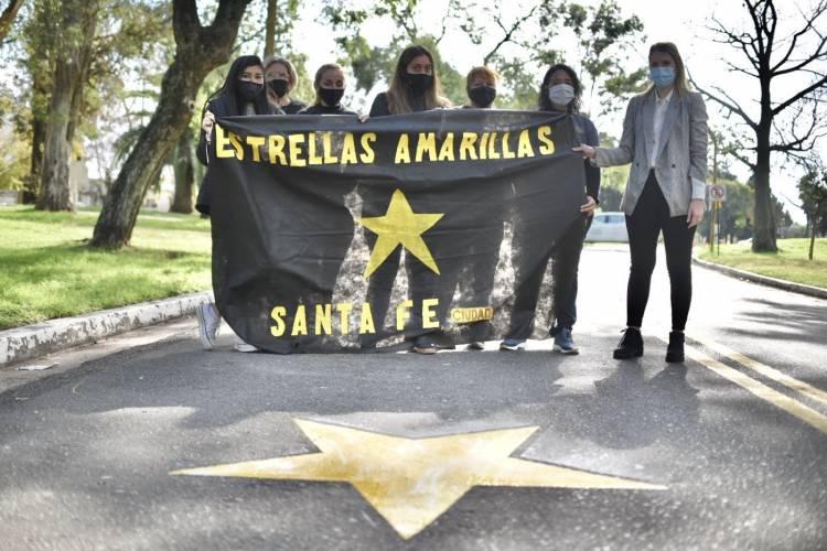 Una Estrella Amarilla se incorporó al circuito vial del Parque Garay