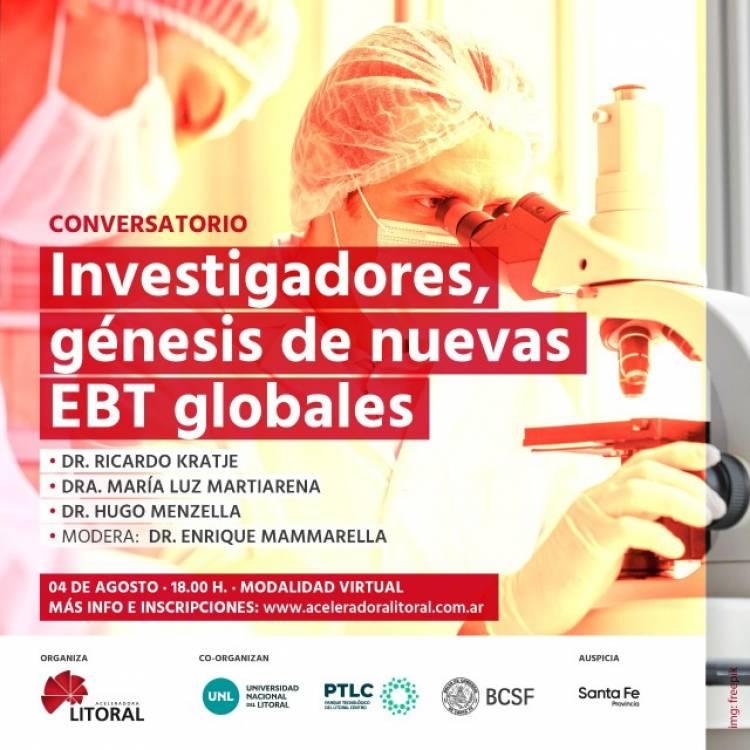 Investigadores, génesis de nuevas EBT globales