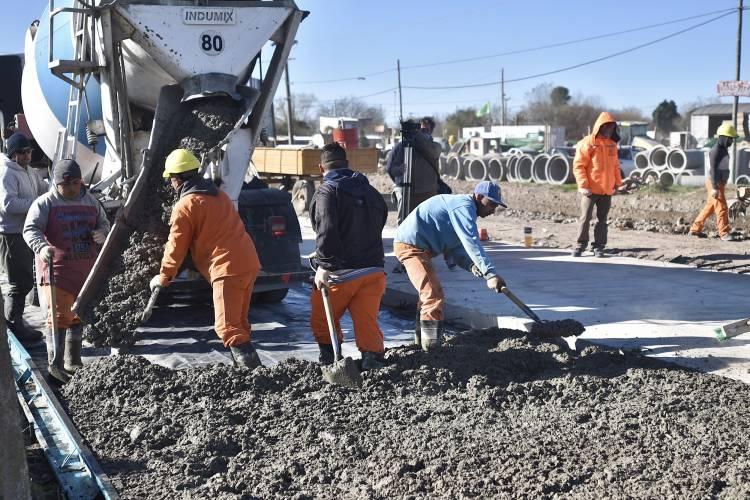 El Noroeste progresa con las obras en calle Beruti