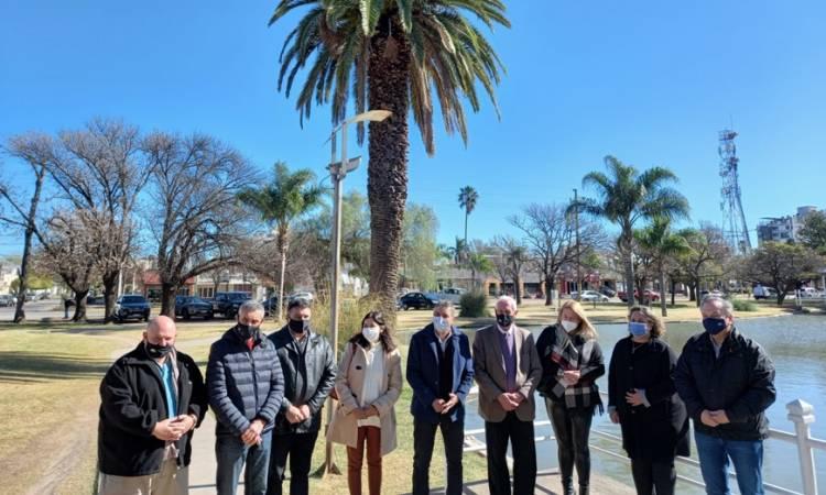 Autoridades departamentales visitaron Morteros, y abordaron con el intendente José Bría una intensa agenda de trabajo
