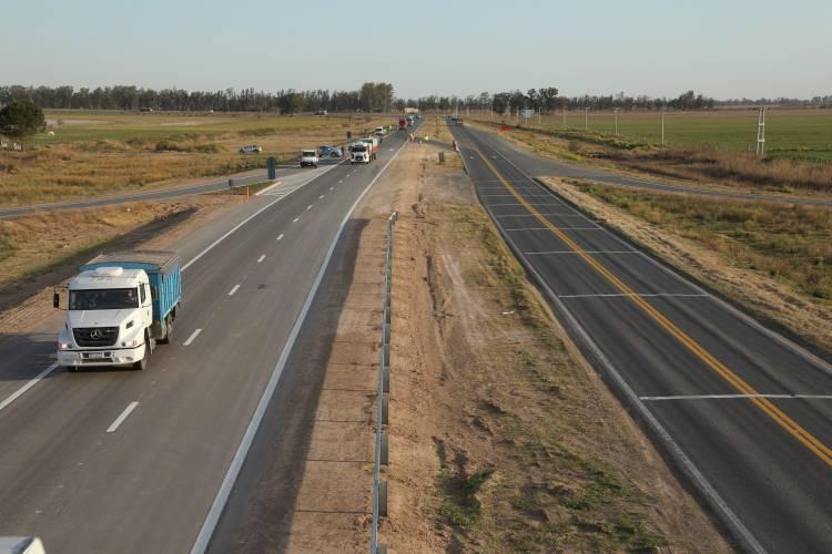 La Nación habilitó un tramo de la autopista de la Ruta Nacional N°34
